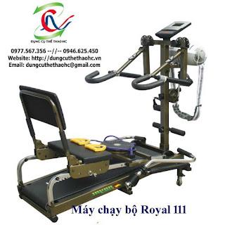 Máy chạy bộ cơ Royal 111 giá rẻ