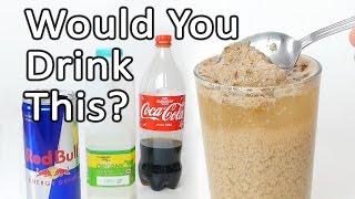 Coke + Milk + Red Bull Reaction Experiment