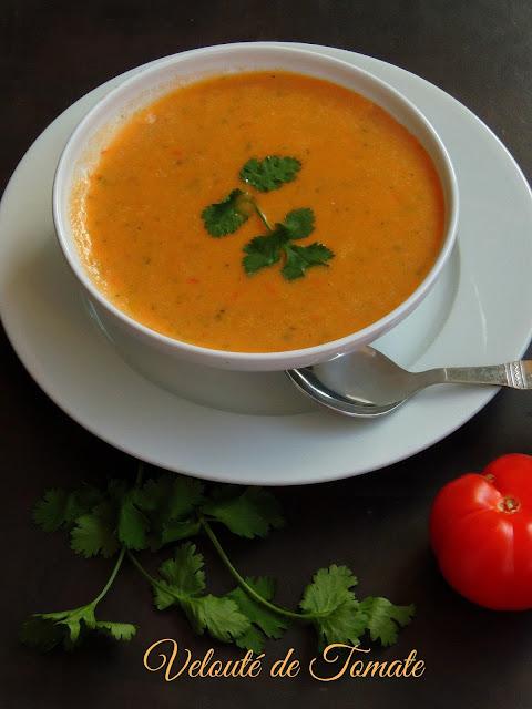 Velouté de tomate, Creamy tomato soup