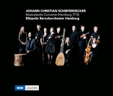 Johann Christian Schieferdecker - Musicalische Concerte (Hamburg 1713)