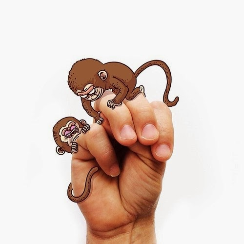 13-M-is-for-Monkey-Alex-Solis-Signs-&-Doodles-Book-www-designstack-co