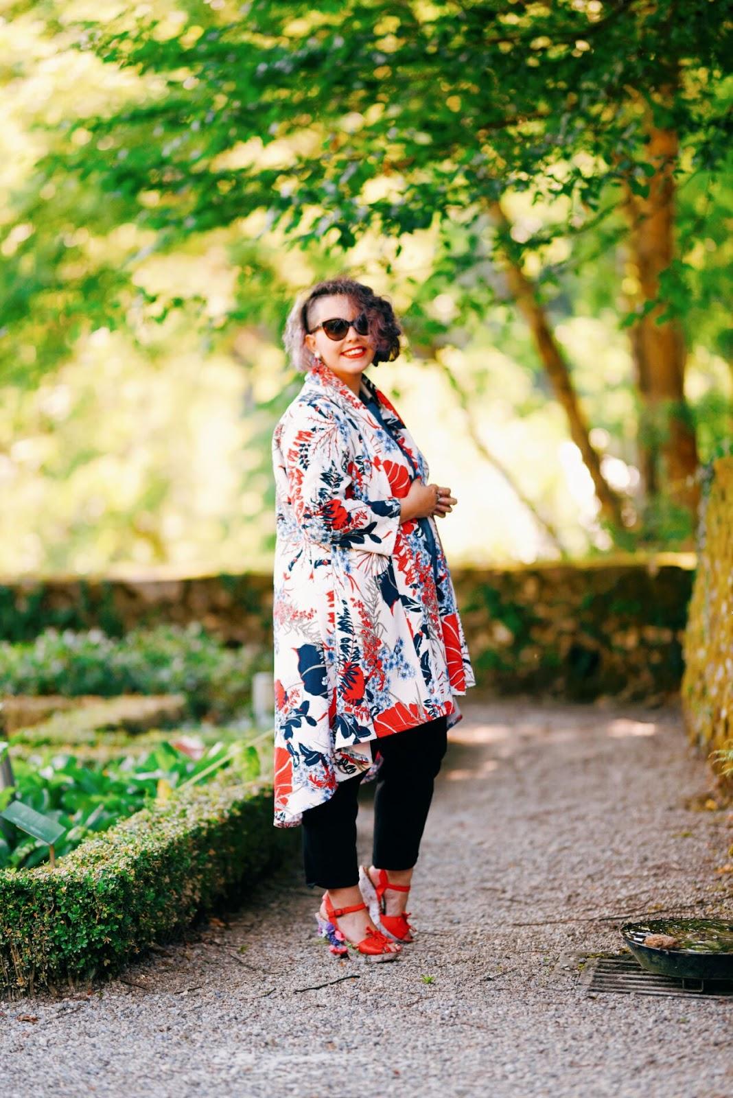 Veste kimono Lili la Tigresse