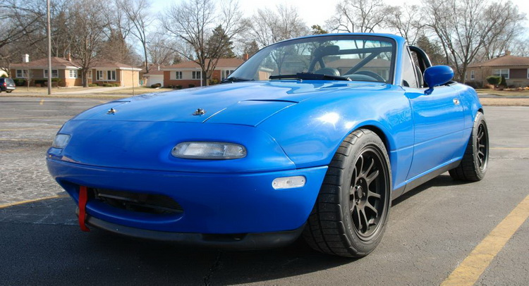 why settle for a new mazda mx 5 when there is a monster miata on sale for 20k. Black Bedroom Furniture Sets. Home Design Ideas
