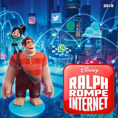Ralph rompe internet - [2018]