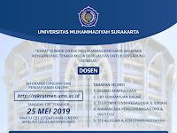 Rekrutmen Dosen Universitas Muhammadiyah Surakarta