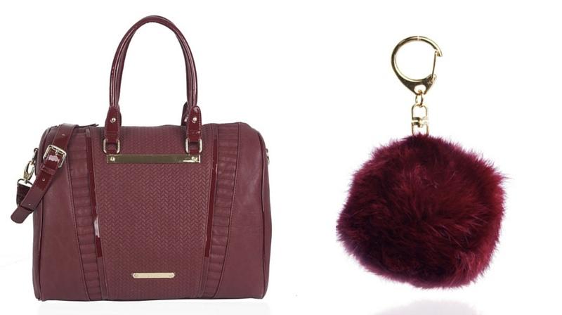 Wine LYDC Shoulder Bag Lust List