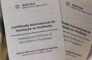 Certificado é exigido em alguns países para viagem