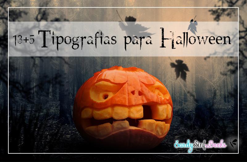 letras halloween tipografías fonts
