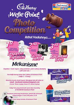 Cadbury Wefie Point Photo Competition - Indomaret