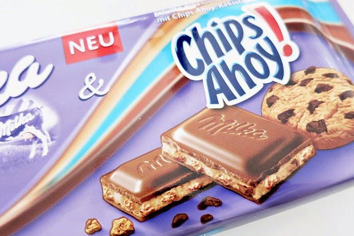 Milka News #4 :: Chips Ahoy! Milka Alpenmilchschokolade