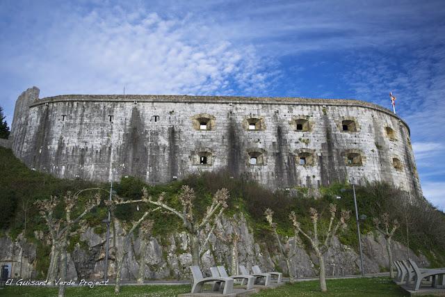 Fuerte de San Martín - Santoña, por El Guisante Verde Project