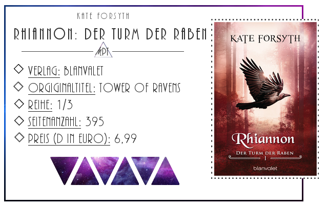 [Rezension] Rhiannon: Der Turm der Raben - Kate Forsyth