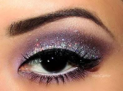 Como usar Glitter na maquiagem do casamento