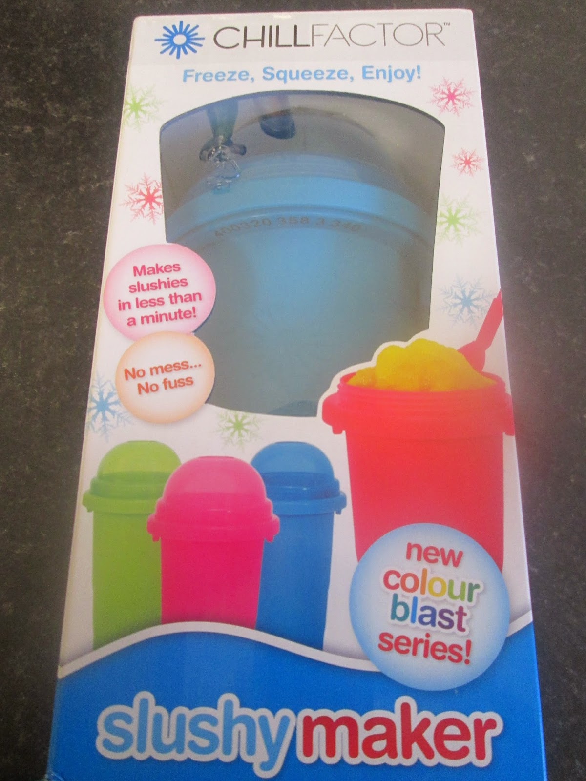 kids and children's easy home slushy maker