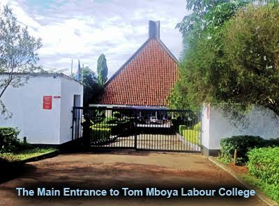 Tom Mboya Labour College courses