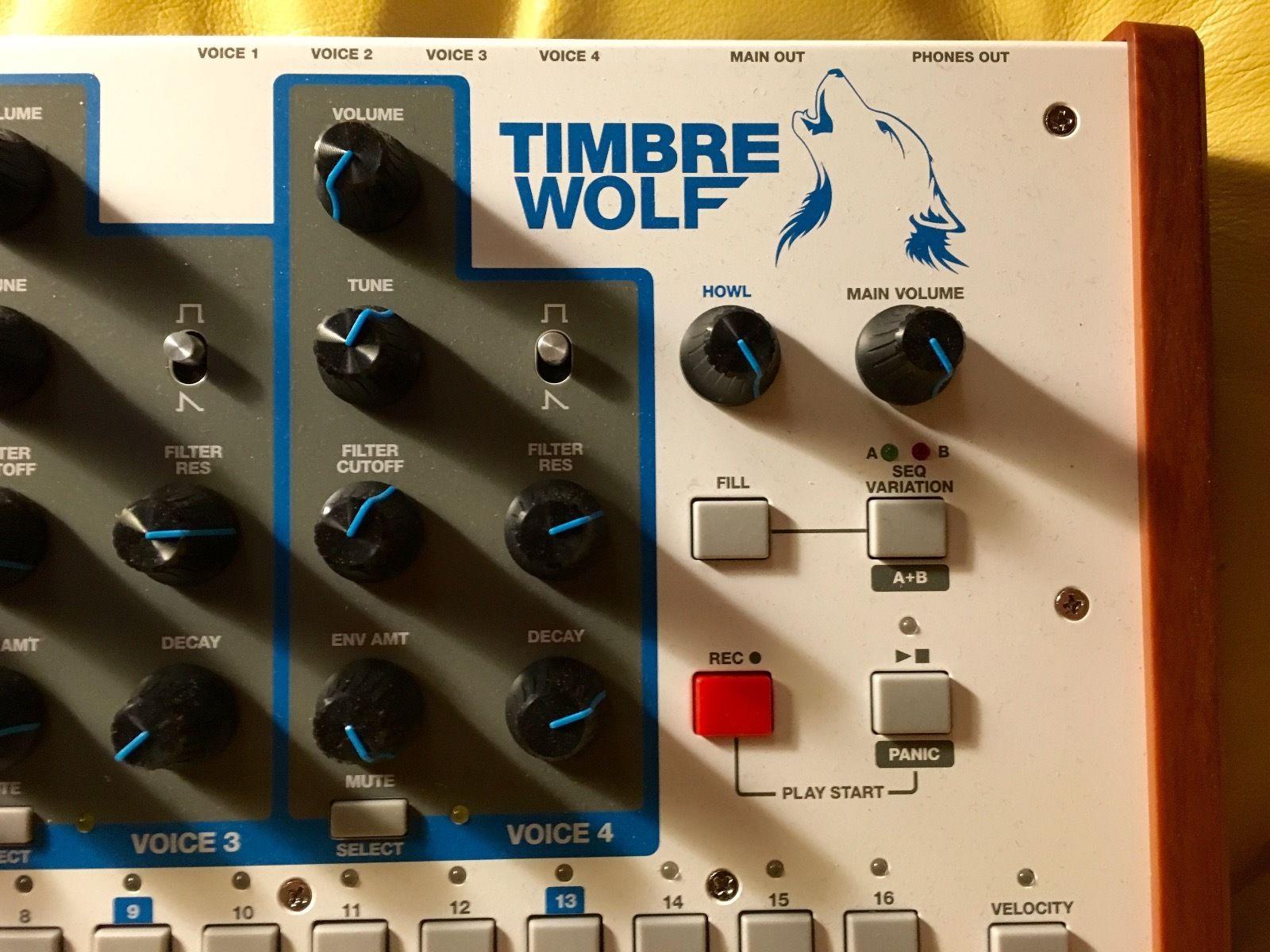MATRIXSYNTH: Akai Timber Wolf analog synth