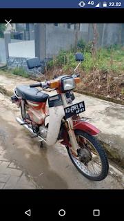 Jual Honda Supercub C700 1981