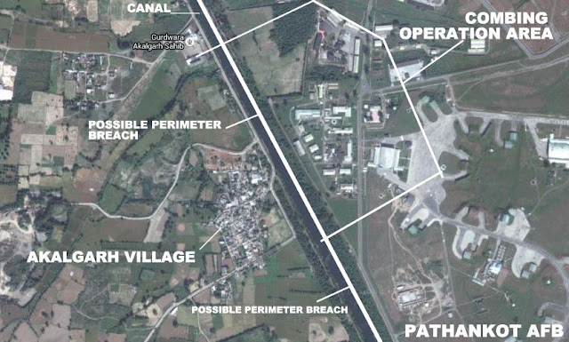 """Keyword in this Media Headline - """"Akalgarh"""",  Possible Combing Operation Area - Check The Map"""