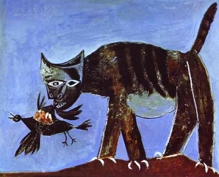 A World Elsewhere: Cats in Art : some famous artists ...