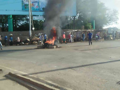Kisumu demos over Raila Odinga detention. PHOTO | FILE