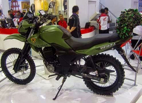 Modifikasi Honda Verza 150