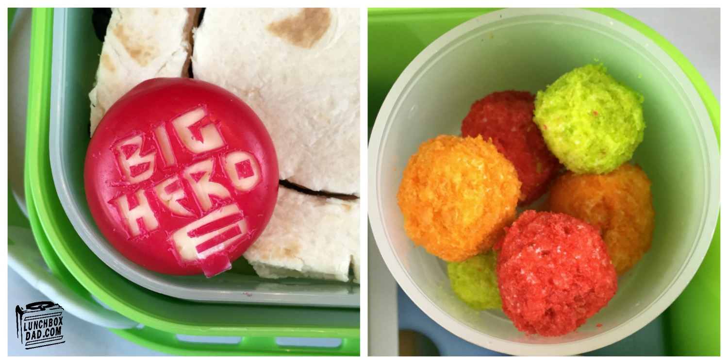 Big Hero 6 bento lunch Honey Lemon and GoGo