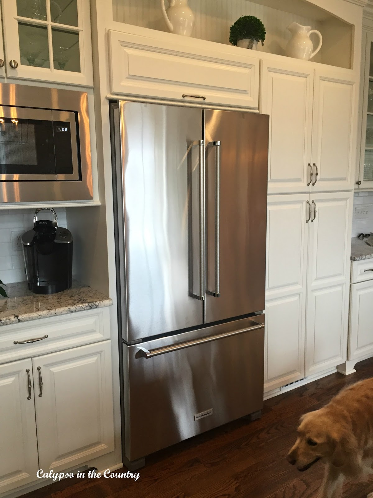 New Kitchen Aid French Door Counter Depth Refrigerator