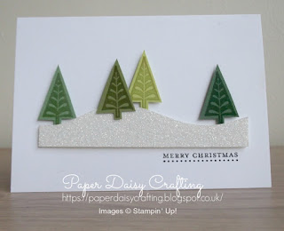 Stampin' Up! Merry Mistletoe Christmas card