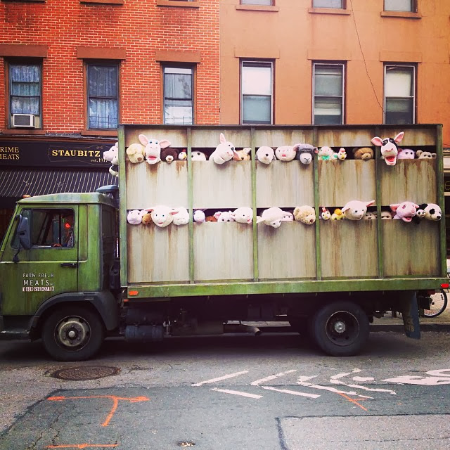 Banksy's New Truck Installation For Better Out Than In Uncovered Early ? 3