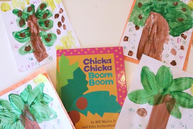 chicka chicka boom boom tree