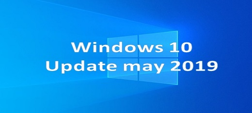 Windows 10 Update may 2019