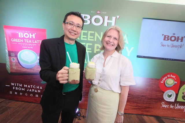 Sharing The Ummph!  With Mr. Chen Chaw Chang, Head of Marketing and Export, BOH Plantations & Ms. Caroline Russell, CEO of  BOH Plantations