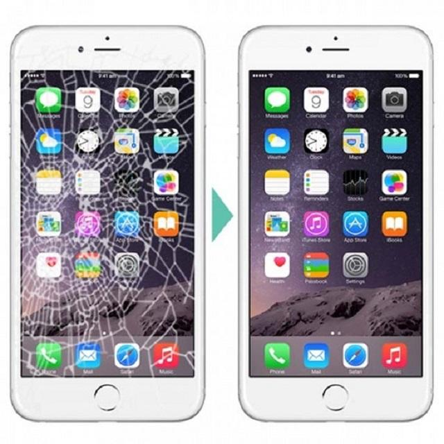 thay mat kinh iPhone 6 moi