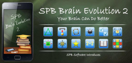 SPB Brain Evolution App for Android Phones