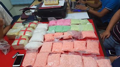 Pengungkapan Narkotika Jenis Shabu-Shabu Dan Pil Exctacy Di Riau