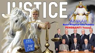 badan pimpinan saksi yehuwa mengaku sebagai pengganti kristus palsu di publikasi menara pengawal