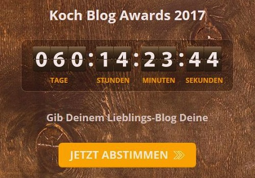 Sparpedia Koch Blog Award 2017