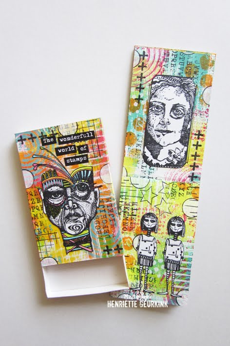 Mini Art Journal + box