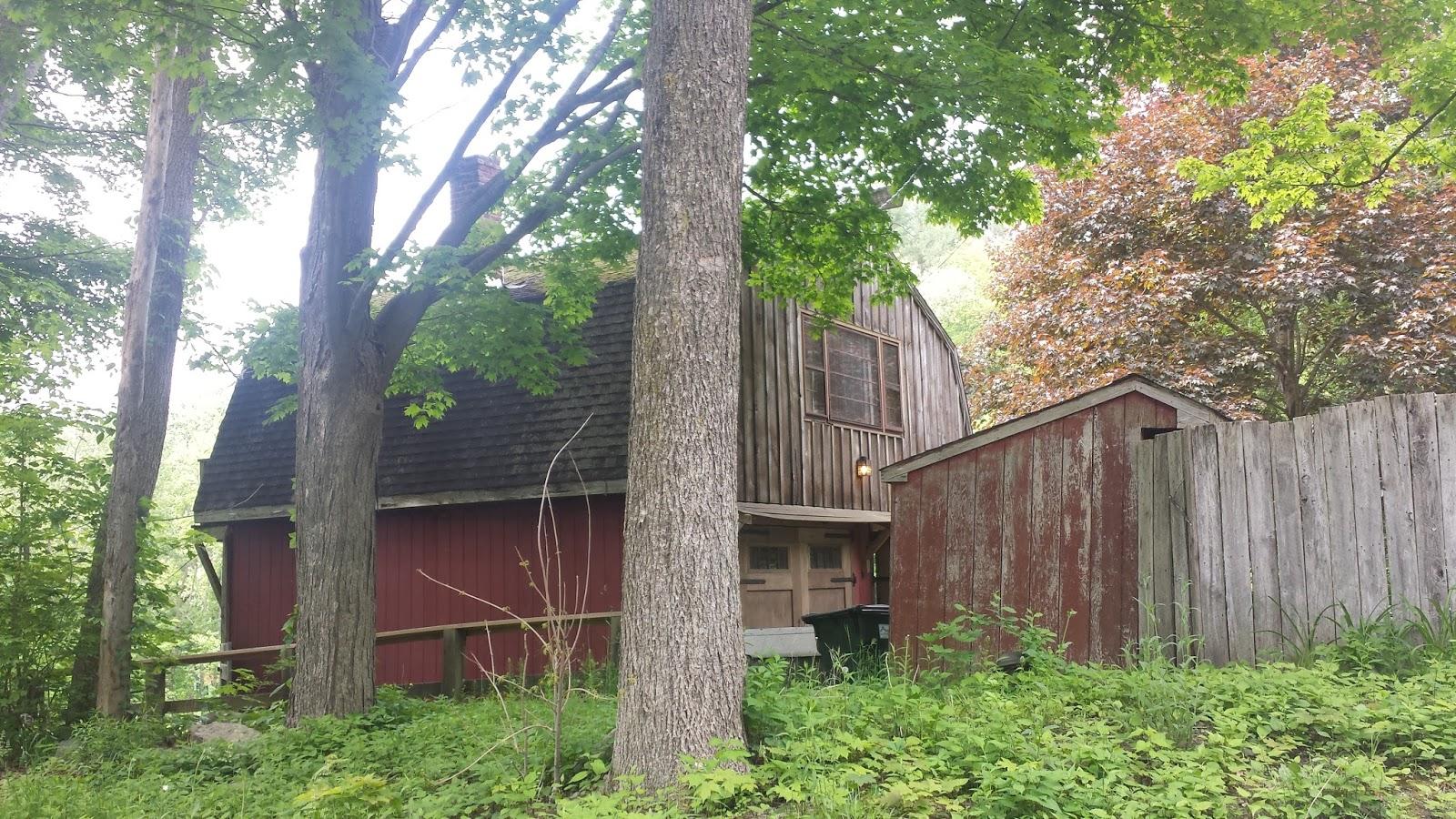 The run newtown project suddenly summer Dutch gambrel barn