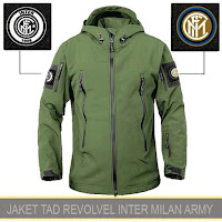 Jaket Motor Waterproof Tactical Revolver Inter Milan