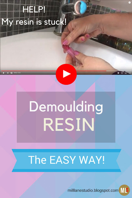 Help! My resin is stuck - Demoulding Resin, the easy way - tip sheet.