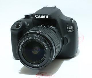 Kamera DSLR Bekas - Canon Eos 1200D