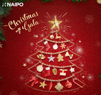 Logo Calendario dell'Avvento Naipo: ogni giorno sotto l'albero vinci una sorpresa