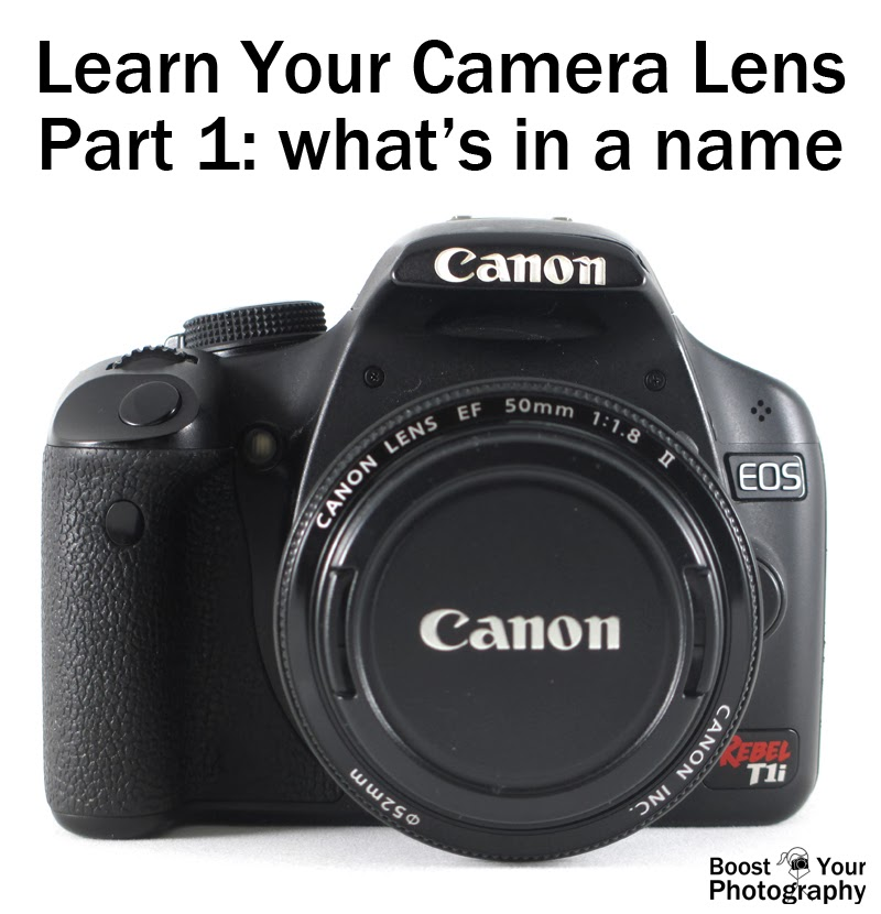 Learn Your Camera Lens: What's in a Name | Boost Your Photography