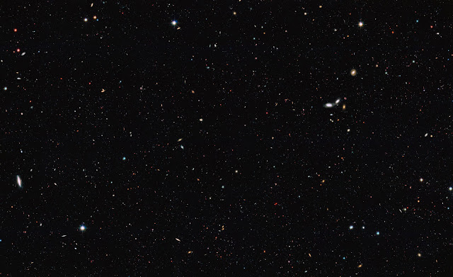 There are at least 2 trillion galaxies in the Observable Universe - 90 percent of galaxies are too faint and too far away to be seen with present-day telescopes