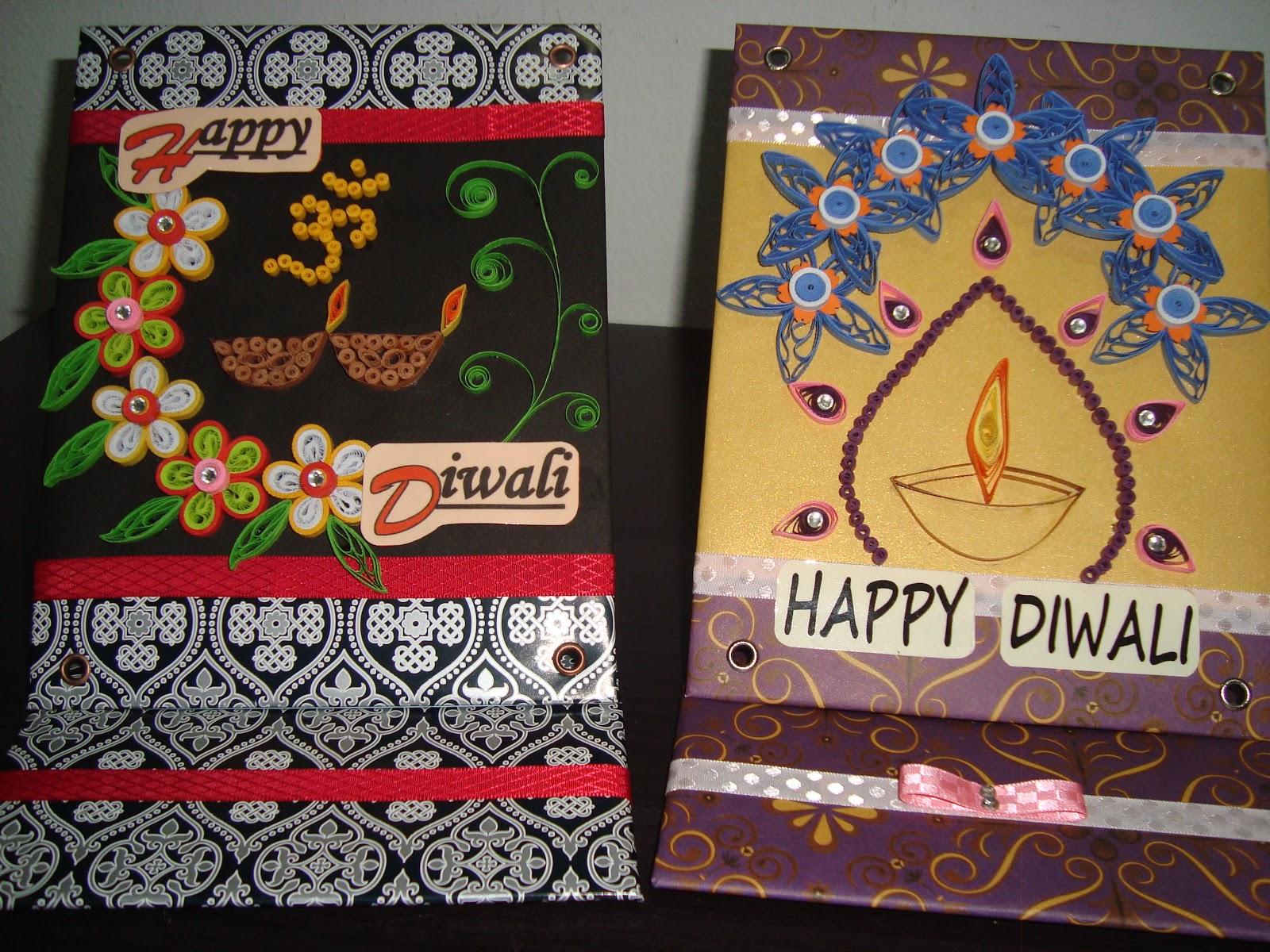 Gulung Gulung Kertas Quilling Happy Diwali 2012