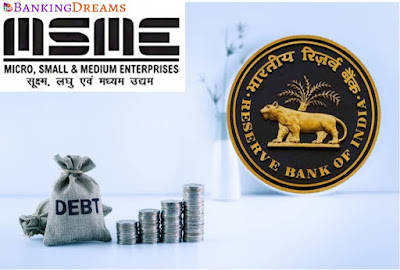 RBI offers a one time restructuring of debts to the MSME sector upto Rs. 25 crores