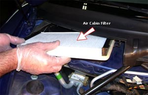 air filter cabin ac mobil