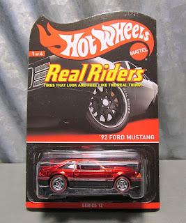 hot wheels rlc 92 ford mustang