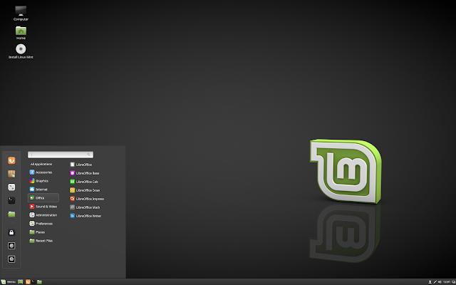 """Linux Mint 18.1 """"Serena"""" Cinnamon"""